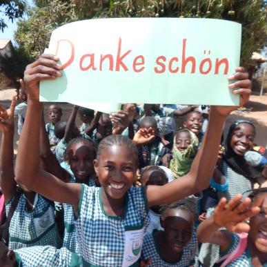 Danke aus Gambia